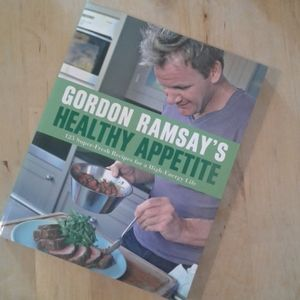 Gordon Ramsay's healthy appetite  cookbook.